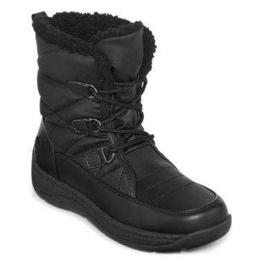 jcpenney.com | Totes Kim Weather Lace-Up Boots