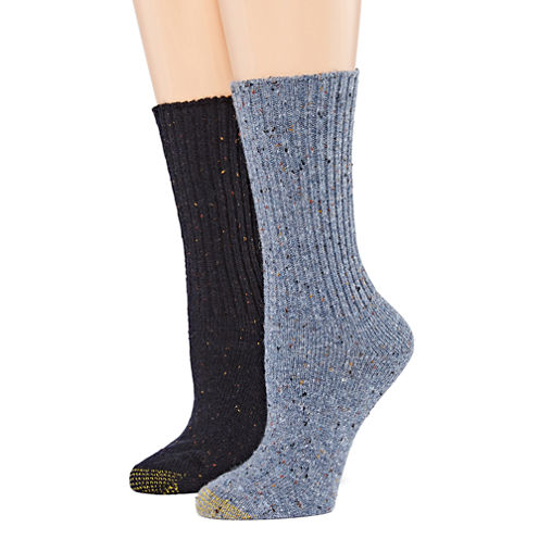 Gold Toe® 2-pr. Crossroads Boot Crew Socks