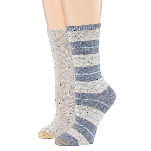 Gold Toe® 2-pk. Donegal Boot Crew Socks