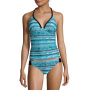 Arizona Mod Dream Push-Up Tankini Swim Top