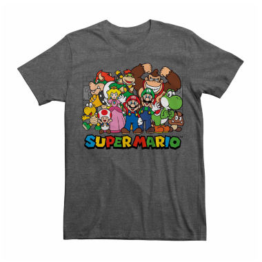 jcpenney.com | Nintendo® Short-Sleeve Super Mario Group Tee