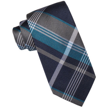 jcpenney.com | Collection by Michael Strahan™ Dallas Plaid Silk Tie