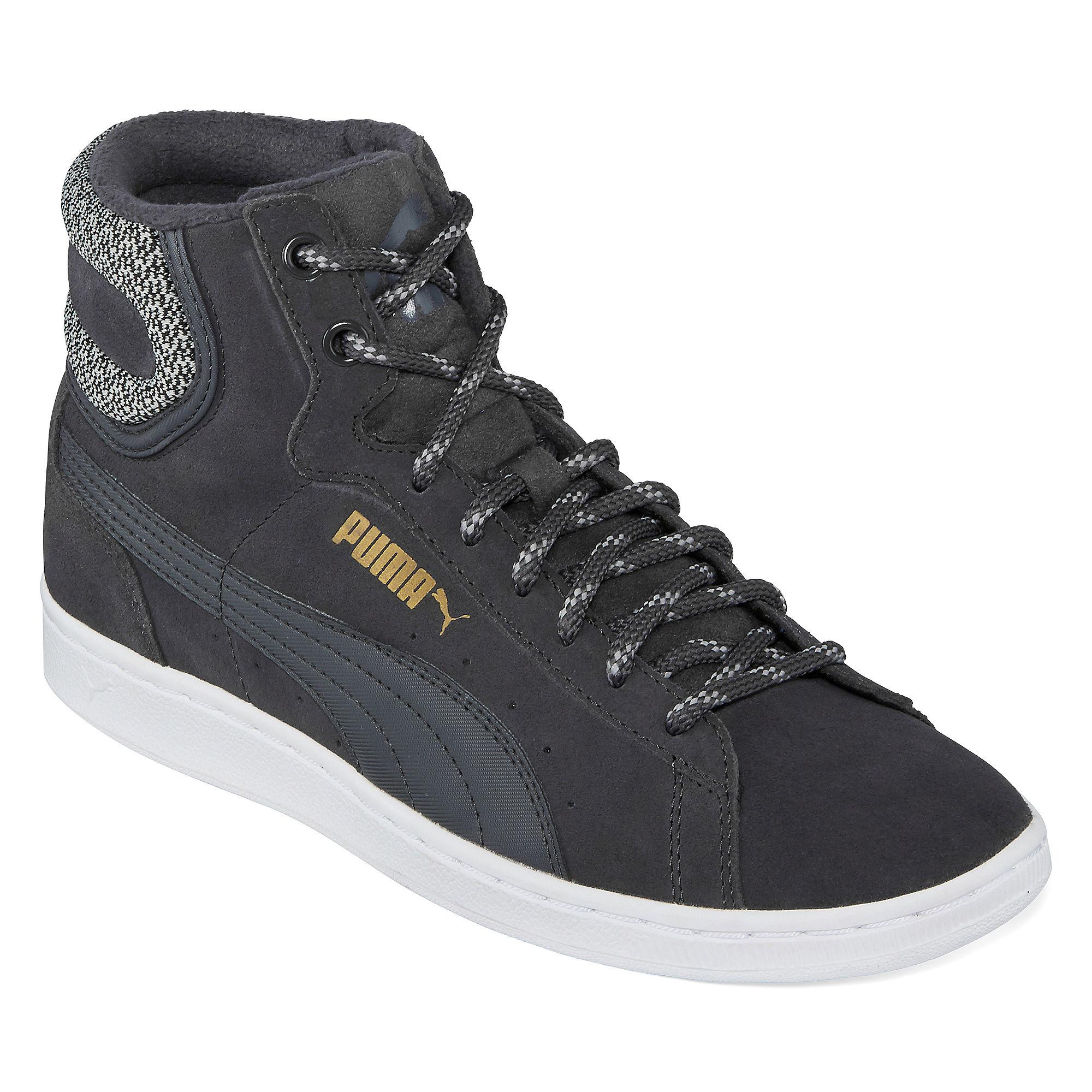 Puma Vikky Mid Womens Athletic Shoes plus size,  plus size fashion plus size appare
