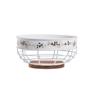 jcpenney.com | Pfaltzgraff Winterberry Bread Basket
