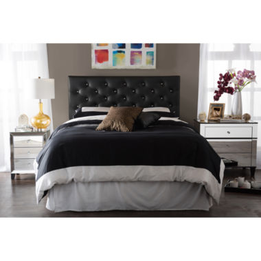jcpenney.com | Baxton Studio Viviana Faux-Leather Upholstered Button-Tufted Headboard