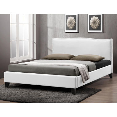 jcpenney.com | Baxton Studio Battersby  Modern Bed with  Linen Upholstered Headboard