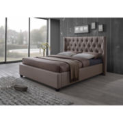 Baxton Studio Kensington Tall Platform Bed