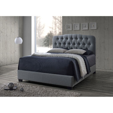jcpenney.com | Baxton Studio Romeo Contemporary Button-Tufted Upholstered Bed