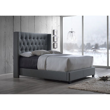 jcpenney.com | Baxton Studio Katherine Wing-Back Upholstered Bed