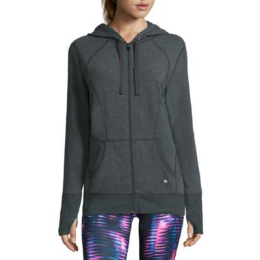 jcpenney.com | Xersion™ Studio Long-Sleeve Full-Zip Hoodie - Tall