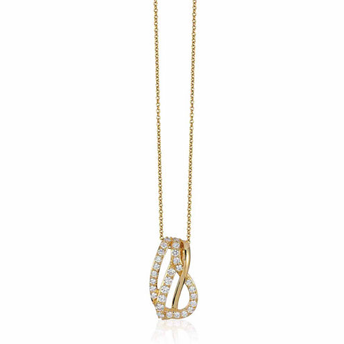 Grand Sample Sale™ by Le Vian® 1/2 CT. T.W. Vanilla Diamonds® in 14K Honey Gold™ Pendant Necklace