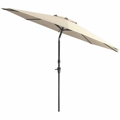 CorLiving Wind Resistant Tilting Patio Umbrella