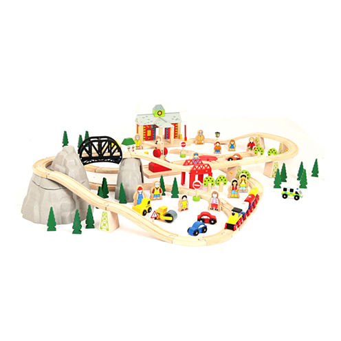 Bigjigs Toys - Mountain Railway Set