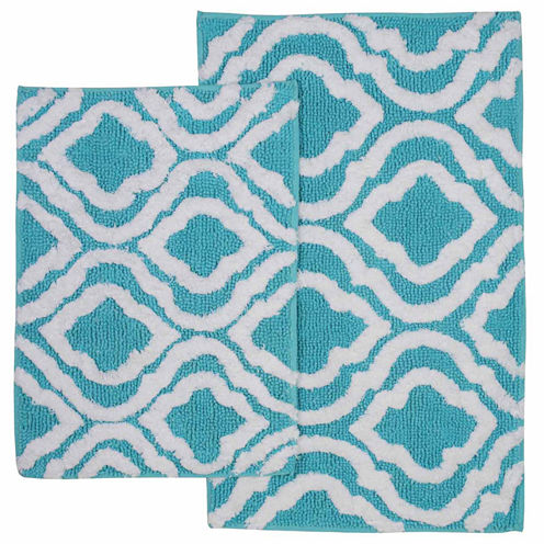 Bibb Home Chelsea 2-pc. Bath Rug Set