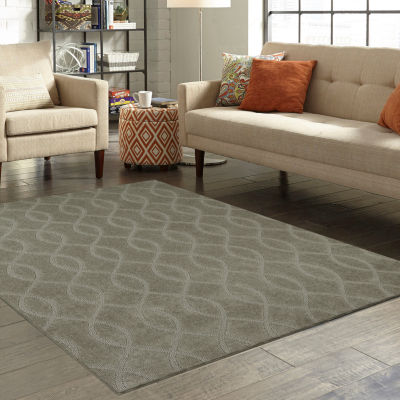 Amazing JCPenney Home™ Imperial Wave Washable Rectangular Rug