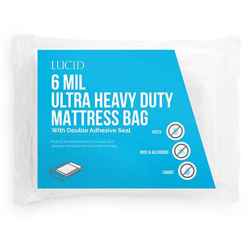 Lucid 6 mil Ultra Heavy Duty Mattress Bag