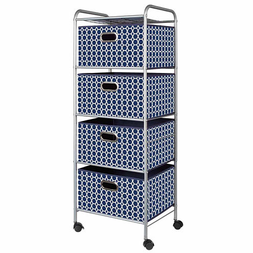 4-Drawer Storage Cart