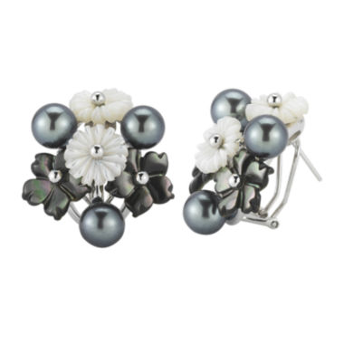 jcpenney.com | Cultured Freshwater Pearl & Mother-of-Pearl Earrings