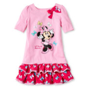 Disney Minnie Bow Dress - Girls 2-10