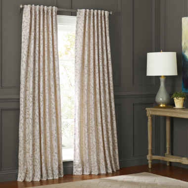 jcpenney.com | MarthaWindow™ Morning Tide Grommet-Top Curtain Panel