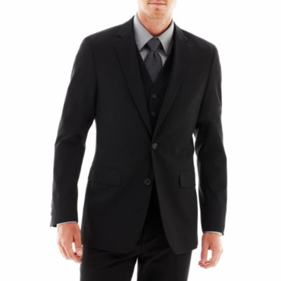 JF J. Ferrar® Stretch Gabardine Suit Jacket - Super Slim