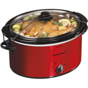 Hamilton Beach® 5-qt. Oval Slow Cooker