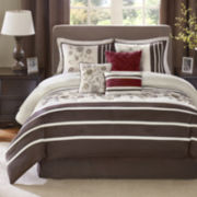 Madison Park Marie Scroll 7-pc. Comforter Set