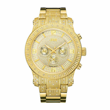 jcpenney.com | JBW Men's Lynx .80 ctw Diamond 18k gold-plated stainless-steel Watch J6336B
