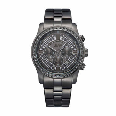 jcpenney.com | JBW Men's Vanquish .42 ctw Diamond Black Ion-Plated Stainless Steel Watch J6337D