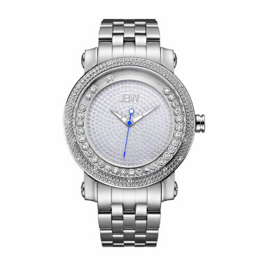 jcpenney.com | JBW Men's Hendrix 0.20 ctw Diamond Stainless Steel Watch J6338A