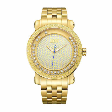 jcpenney.com | JBW Men's Hendrix 0.20 ctw Diamond 18k gold-plated stainless-steel Watch J6338B