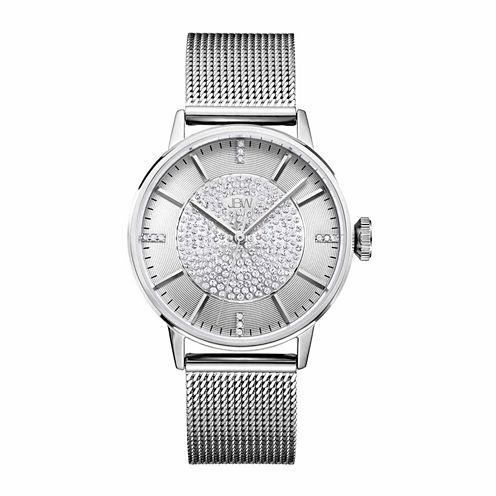 JBW Women's Belle 0.12 ctw Diamond Stainless Steel Watch J6339C