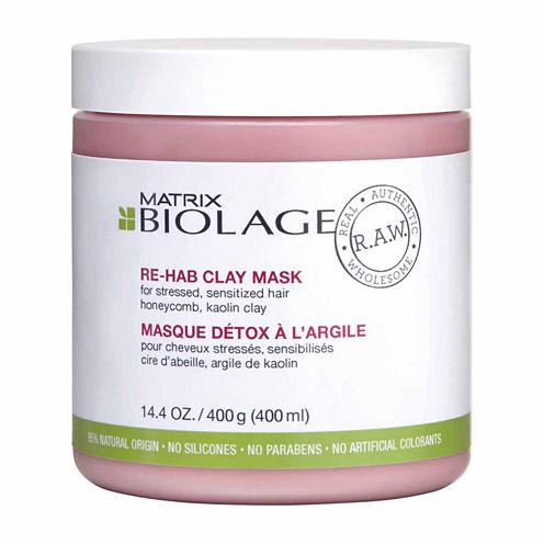 Matrix Biolage Raw Rehab Mask Hair Mask-14.4 Oz.