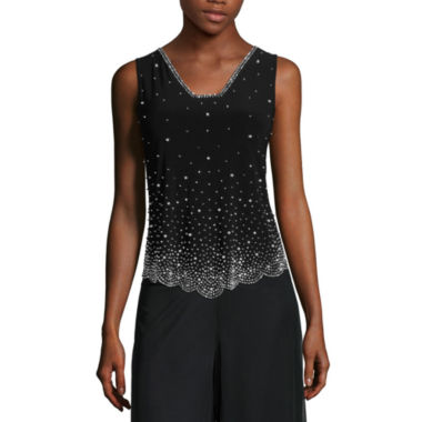 jcpenney.com | MSK Beaded Tank Top - Petite