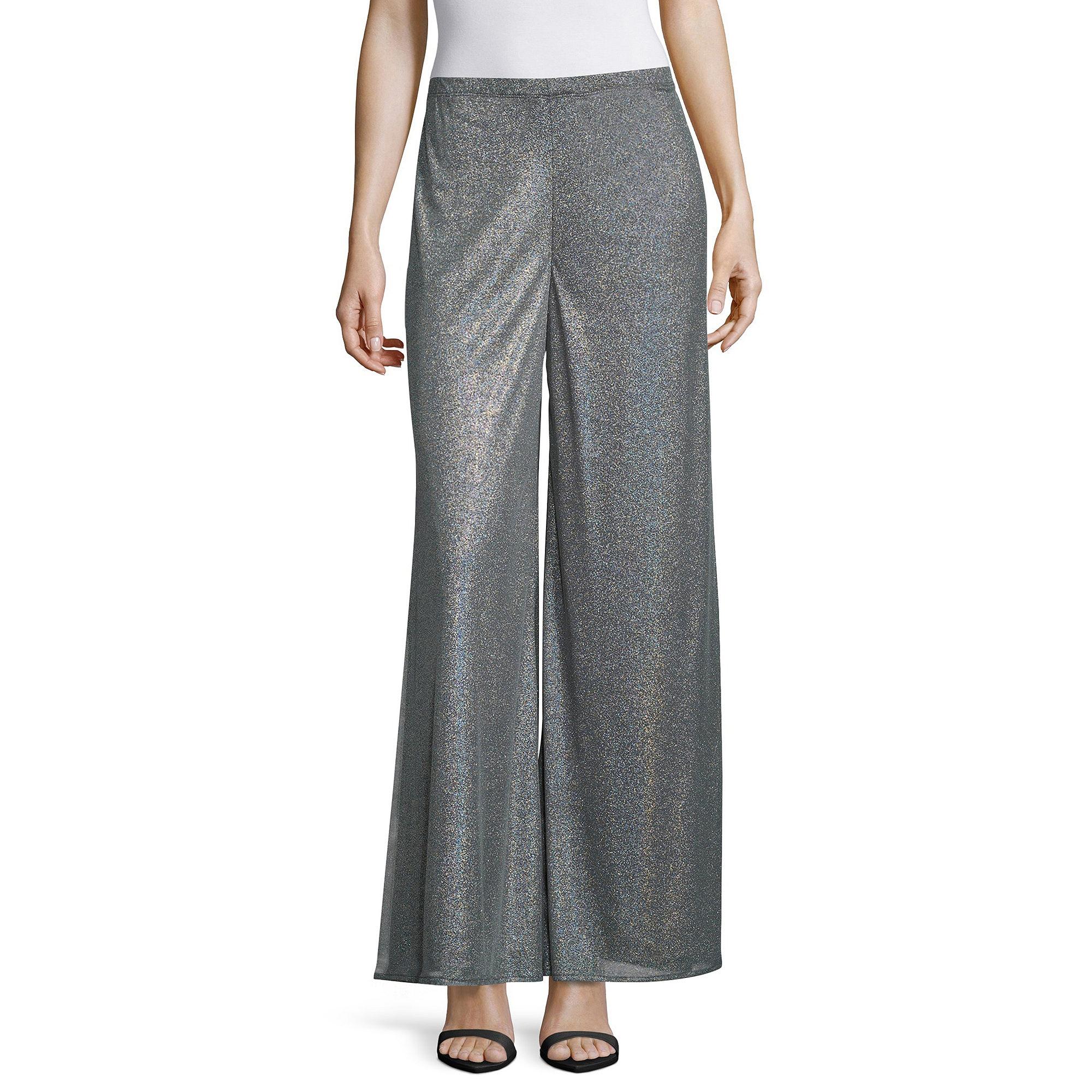MSK York Mink Wide-Leg Pants plus size,  plus size fashion plus size appare