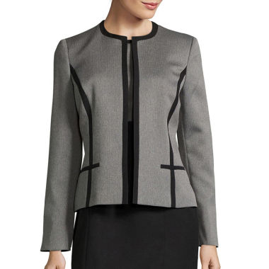 jcpenney.com | Black Label by Evan-Picone Long-Sleeve Contrast Jacket