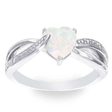 jcpenney.com | Diamond Accent White Opal Cocktail Ring