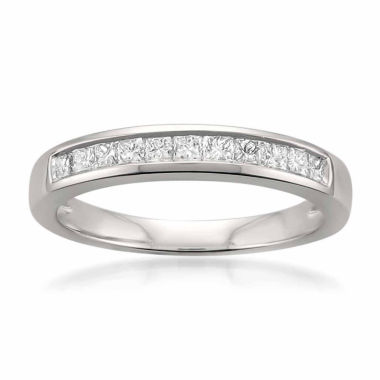 jcpenney.com | Womens 1/2 CT. T.W. White Diamond Platinum Wedding Band