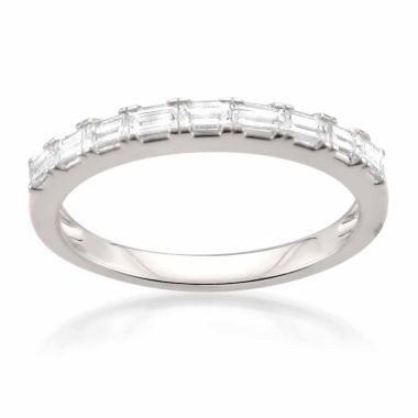 jcpenney.com | Womens 1/2 CT. T.W. White Diamond 14K Gold Wedding Band