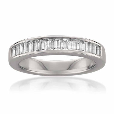 jcpenney.com | Womens 3/4 CT. T.W. White Diamond 14K Gold Wedding Band