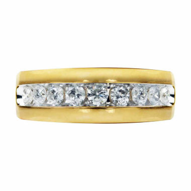 jcpenney.com | Mens 1 CT. T.W. Diamond 14K Gold Band