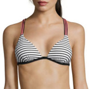 Arizona Summertime Stripe Push-Up Racerback Swim Top