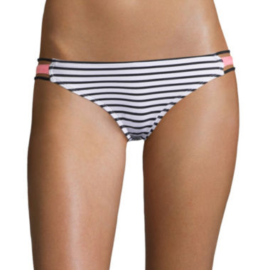 jcpenney.com | Arizona Summertime Stripe Hipster Swim Bottoms