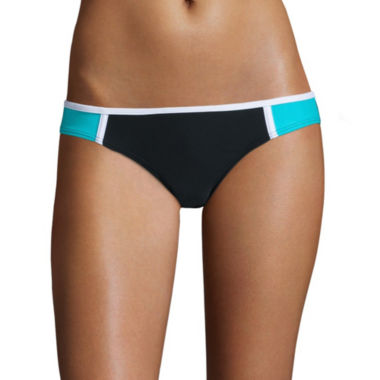 jcpenney.com | Arizona Colorblock Hipster Swim Bottoms