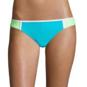 Arizona Colorblock Hipster Swim Bottoms - Juniors