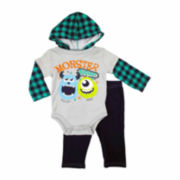 Disney Collection 2-pc. Monster Pants Set - Baby Boys newborn-24m