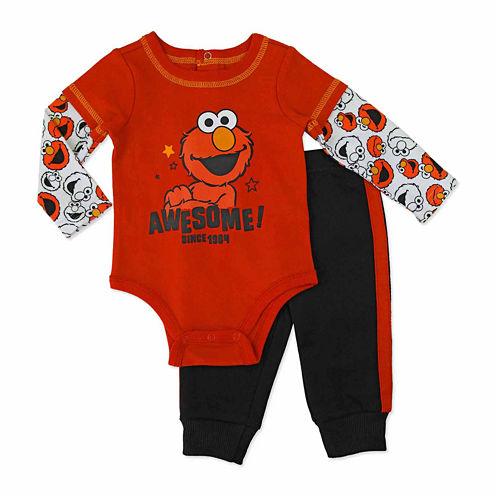 Sesame Elmo Sesame Street Pant Set Baby Boys