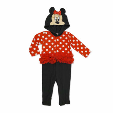 jcpenney.com | Disney Red Minnie Mouse Coverall NB-9M
