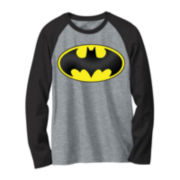 DC Comics® Batman Long-Sleeve Raglan Tee - Preschool Boys 4-7