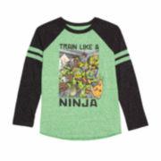 Teenage Mutant Ninja Turtles Long-Sleeve Graphic Raglan Tee - Preschool Boys 4-7
